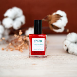 « Poppy Red » Vernis GREEN