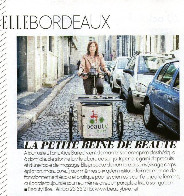 ELLE Bordeaux – Novembre 2012