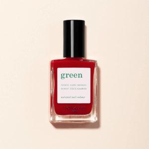 Vernis Green RED CHERRY